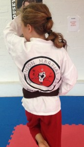 rma karate gi back